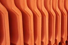 Fin de matériau de toiture de Chambre vers le haut Photographie stock
