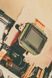 Fin de matrice de sonde d'appareil-photo  photo libre de droits