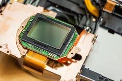 Fin de matrice de sonde d'appareil-photo  photos stock