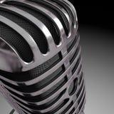 Fin de microphone Image libre de droits