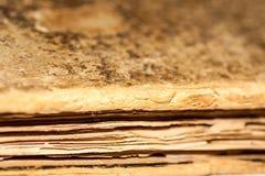 Fin de modèle de vieux livre, vieux livre Photographie stock