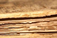 Fin de modèle de vieux livre, vieux livre Image libre de droits