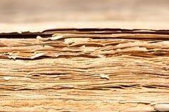 Fin de modèle de vieux livre, vieux livre Photographie stock libre de droits