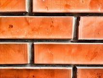 Fin de mur de briques  Photos stock