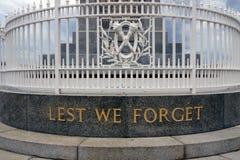 A fin de olvidemos Foto de archivo libre de regalías