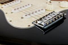 Fin de pont du ` s de guitare et personnel Photos stock
