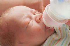 Fin de portrait de bébé Images stock