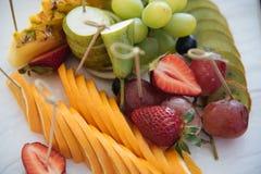 Fin de salade de fruits vers le haut Photographie stock