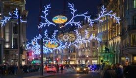 Fin de semana de Black Friday en Londres la primera venta antes de la Navidad Regent Street Imagenes de archivo