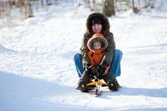 Fin de semana del invierno fotos de archivo libres de regalías