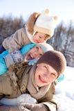 Fin de semana del invierno Fotos de archivo