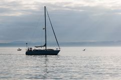 Fin de semana en el mar Imágenes de archivo libres de regalías