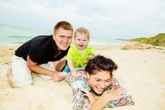 Fin de semana en la playa Imagenes de archivo