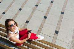 Fin de semana soleado al aire libre Imagenes de archivo