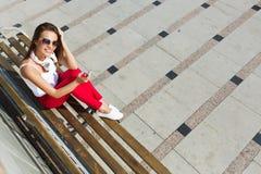 Fin de semana soleado al aire libre Imagen de archivo libre de regalías