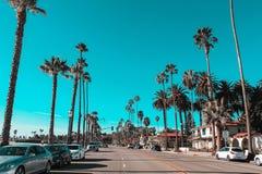 Fin de semana a través de la costa de California - carretera 1 - Santa Barbara fotos de archivo libres de regalías
