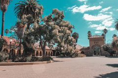 Fin de semana a través de la costa de California - Stanford fotos de archivo libres de regalías
