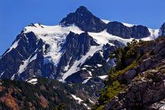Fin de Shuksan de support vers le haut de Washington Photo libre de droits
