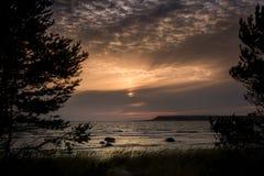 Fin de soirée 6 du Gotland images stock