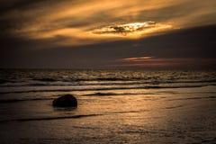 Fin de soirée 11 du Gotland image stock