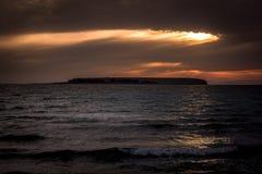 Fin de soirée 3 du Gotland photographie stock