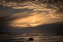 Fin de soirée 8 du Gotland image stock