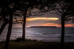 Fin de soirée 2 du Gotland photographie stock libre de droits