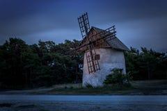 Fin de soirée 16 du Gotland images libres de droits