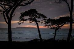 Fin de soirée 1 du Gotland photographie stock