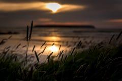Fin de soirée 5 du Gotland images libres de droits