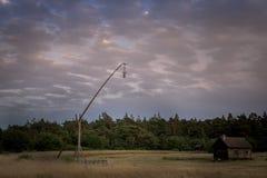 Fin de soirée 7 du Gotland photographie stock