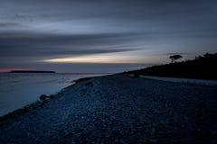 Fin de soirée 13 du Gotland photographie stock libre de droits
