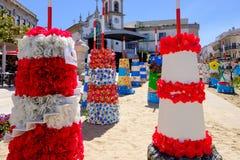 Fin de support Flor de ncora de 'de Vila Praia de à photo stock