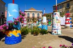 Fin de support Flor de ncora de 'de Vila Praia de à images stock