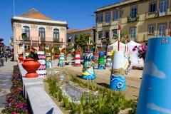 Fin de support Flor de ncora de 'de Vila Praia de à photo libre de droits
