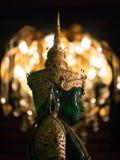 Fin de tête d'image de Jade Buddha  Images stock