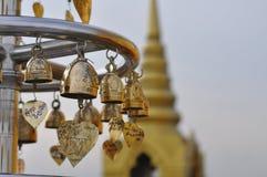 Fin de temple bouddhiste  Photographie stock libre de droits