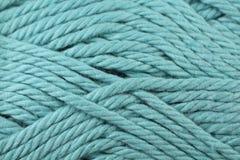 Fin de texture de fil de bleus layette  Photos libres de droits