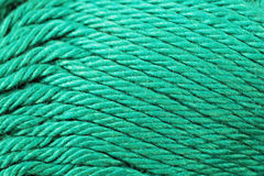 Fin de texture de fil de turquoise  Images stock