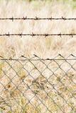 Fin de treillis métallique photos libres de droits