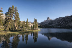 Fin dome in the Sierra Nevada mountains Stock Photo