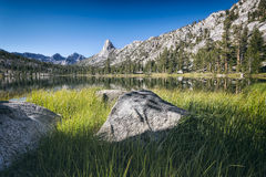 Fin dome in the Sierra Nevada mountains Royalty Free Stock Photo