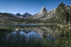 Fin dome in the Sierra Nevada mountains Stock Image