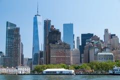 Fin du centre ville de Manhattan  Photos libres de droits