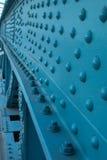 Fin en acier de construction vers le haut de verticale Photos stock