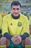Fin en avant de Kuban Spartak Gogniev de fc avant le match contre le shinnik de fc Images stock