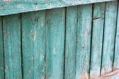 Fin en bois de barrière  Vieille frontière de sécurité photo libre de droits