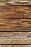 Fin en bois superficielle par les agents de fond  Image libre de droits