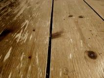 Fin extrême sur le plancher en bois vertical photo stock