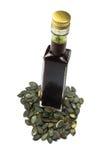 Fin fraîche d'huile de potiron Image libre de droits